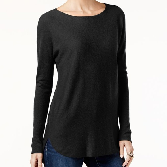 INC International Concepts Sweaters - INC Long Sleeve High-low Sweater